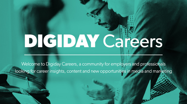 Introducing the new Digiday Careers