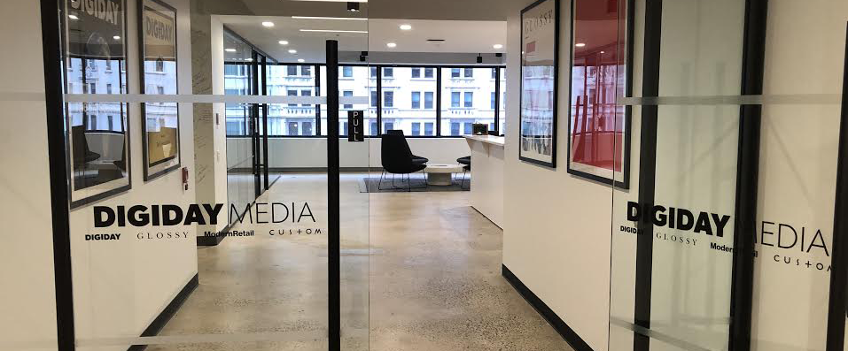 Recent promotions at Digiday Media